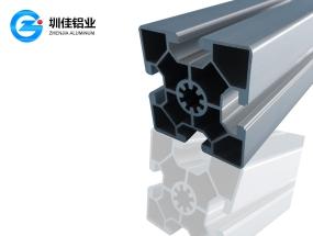 6060中心花纹孔铝材